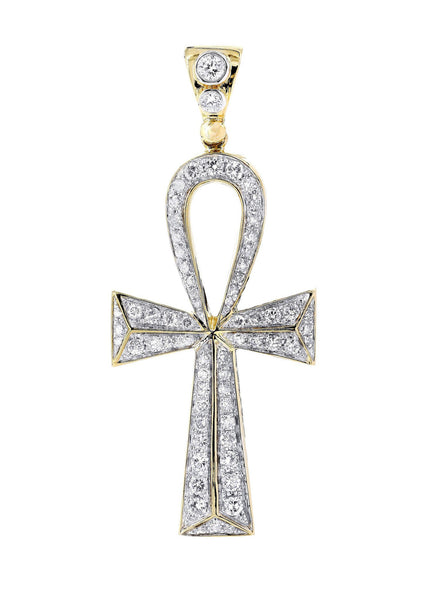 Diamond Cross Pendant |0.44 Carats | 3.71 Grams