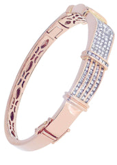 Mens Diamond Bracelet Rose Gold| 4.11 Carats| 39.69 Grams Men's Diamond Bracelets FROST NYC