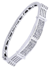 Mens Diamond Bracelet White Gold| 3.47 Carats| 40.28 Grams Men's Diamond Bracelets FROST NYC