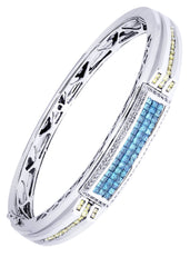 Mens Diamond Bracelet White Gold| 2.65 Carats| 41.65 Grams Men's Diamond Bracelets FROST NYC