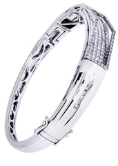 Mens Diamond Bracelet White Gold| 3.68 Carats| 34.76 Grams Men's Diamond Bracelets FROST NYC