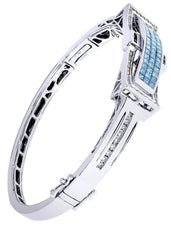 Mens Diamond Bracelet White Gold| 3.32 Carats| 31.16 Grams Men's Diamond Bracelets FROST NYC