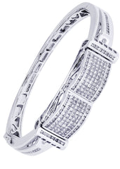 Mens Diamond Bracelet White Gold| 3.41 Carats| 42.94 Grams Men's Diamond Bracelets FROST NYC