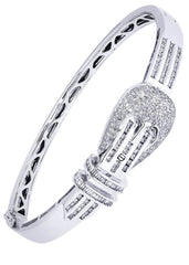 Mens Diamond Bracelet White Gold| 1.68 Carats| 26.23 Grams Men's Diamond Bracelets FROST NYC