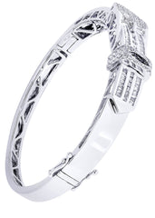 Mens Diamond Bracelet White Gold| 2.45 Carats| 29.44 Grams Men's Diamond Bracelets FROST NYC