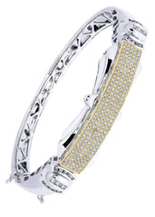 Mens Diamond Bracelet White Gold| 1.92 Carats| 37.88 Grams Men's Diamond Bracelets FROST NYC