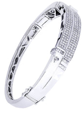 Mens Diamond Bracelet White Gold| 2.35 Carats| 33.93 Grams Men's Diamond Bracelets FROST NYC