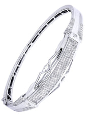 Mens Diamond Bracelet White Gold| 1.76 Carats| 26.69 Grams Men's Diamond Bracelets FROST NYC