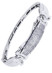 Mens Diamond Bracelet White Gold| 1.95 Carats| 33.54 Grams Men's Diamond Bracelets FROST NYC
