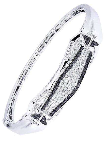 Mens Diamond Bracelet White Gold| 1.66 Carats| 31.51 Grams