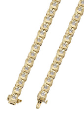 Tennis Necklace | 5.2 Carats | 5 Mm Width | 30 Inch Length