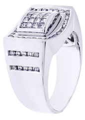 Mens Diamond Ring| 0.68 Carats| 12.99 Grams