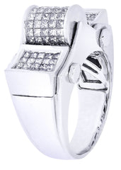 Mens Diamond Ring| 2.69 Carats| 17.59 Grams