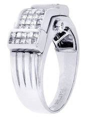 Mens Diamond Ring| 0.89 Carats| 9.94 Grams
