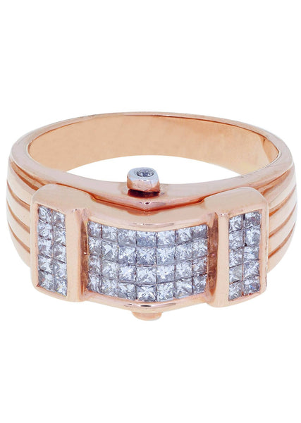 Mens Diamond Ring| 0.92 Carats| 8.72 Grams