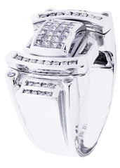 Mens Diamond Ring| 1.28 Carats| 17.39 Grams MEN'S RINGS FROST NYC