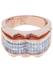 Mens Diamond Ring| 1.48 Carats| 12.1 Grams