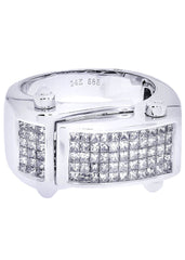 Mens Diamond Ring| 1.41 Carats| 12.22 Grams MEN'S RINGS FROST NYC