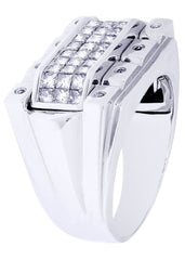 Mens Diamond Ring| 1.33 Carats| 13.87 Grams