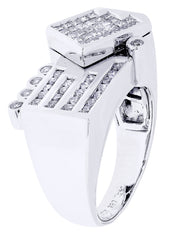Mens Diamond Ring| 1.14 Carats| 12.92 Grams