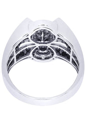 Mens Diamond Ring| 1.26 Carats| 10.15 Grams