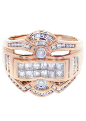Mens Diamond Ring| 1.28 Carats| 10.19 Grams