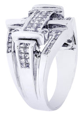 Mens Diamond Ring| 1.08 Carats| 10.76 Grams MEN'S RINGS FROST NYC