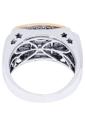 Mens Diamond Ring| 1.68 Carats| 11.24 Grams MEN'S RINGS FROST NYC