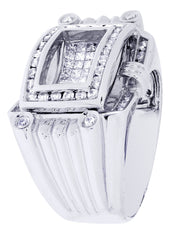 Mens Diamond Ring| 1.49 Carats| 17.17 Grams MEN'S RINGS FROST NYC