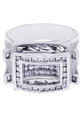 Mens Diamond Ring| 1.35 Carats| 16.56 Grams