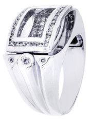 Mens Diamond Ring| 1.18 Carats| 18.23 Grams