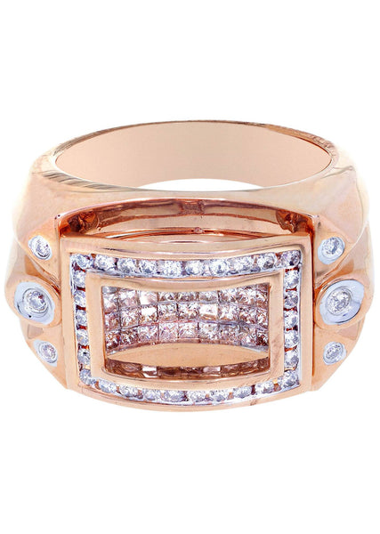 Mens Diamond Ring| 1.23 Carats| 17.99 Grams