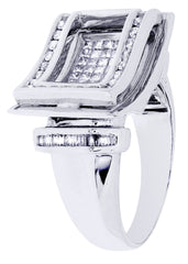 Mens Diamond Ring| 1.24 Carats| 13.19 Grams MEN'S RINGS FROST NYC