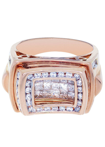 Mens Diamond Ring| 1.88 Carats| 15.24 Grams
