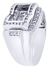 Mens Diamond Ring| 1.44 Carats| 14.73 Grams