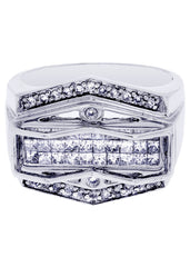 Mens Diamond Ring| 1.14 Carats| 12.43 Grams