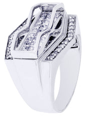Mens Diamond Ring| 1.14 Carats| 12.43 Grams MEN'S RINGS FROST NYC