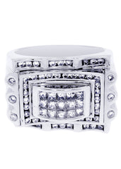 Mens Diamond Ring| 1.48 Carats| 16.25 Grams