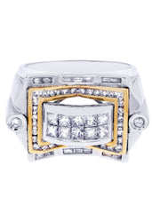 Mens Diamond Ring| 1.44 Carats| 14.01 Grams