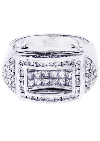 Mens Diamond Ring| 0.54 Carats| 14.84 Grams