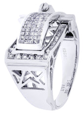 Mens Diamond Ring| 1.03 Carats| 9.72 Grams