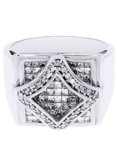 Mens Diamond Ring| 2 Carats| 11.15 Grams