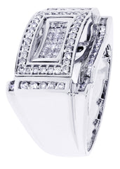 Mens Diamond Ring| 1.11 Carats| 13.37 Grams