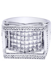 Mens Diamond Ring| 2.78 Carats| 13.79 Grams