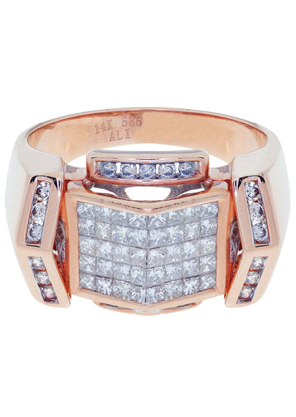 Mens Diamond Ring| 1.33 Carats| 10.7 Grams