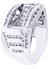 Mens Diamond Ring| 2.03 Carats| 12.21 Grams