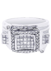 Mens Diamond Ring| 1.33 Carats| 12.39 Grams