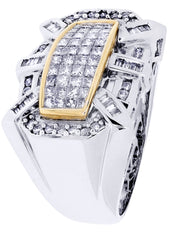 Mens Diamond Ring| 1.25 Carats| 13.86 Grams