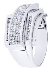 Mens Diamond Ring| 1.22 Carats| 11.96 Grams