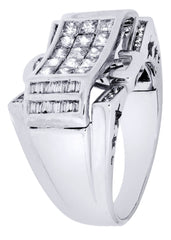 Mens Diamond Ring| 1.6 Carats| 10.5 Grams